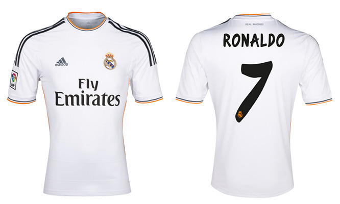 half off dea45 d23f6 Win your own Authentic Cristiano Ronaldo Jersey!