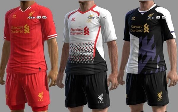 the best attitude 68bc1 5b0fd Photo: All three Liverpool kits for next year leaked ...